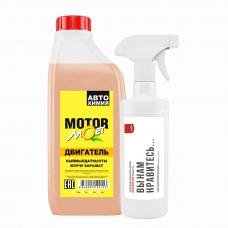 Концентрат для чистки мотора MOTOR, 1 л