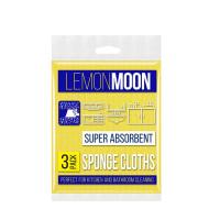 Салфетки губчатые LEMONMOON средние (3 шт) (L501)